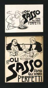 1901-22- Annunci Olio Sasso