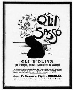 1904-16 - Annunci Olio Sasso