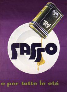 1954- Manifesti pubblicitari Sasso