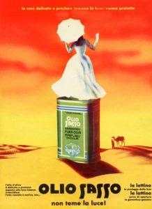 1958 annunci Olio Sasso colori