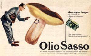 1958 annunci Olio Sasso fungo