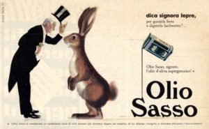 1959 annunci Olio Sasso lepre