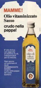 1972 annunci pubblicitari olio sasso