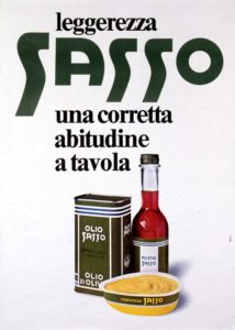 1977 annunci pubblicitari olio sasso