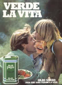 1987 annunci pubblicitari olio sasso