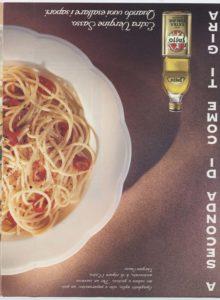 1996 annunci pubblicitari olio sasso