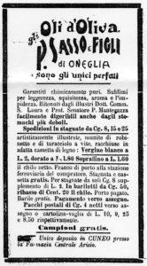 1897 - Annunci Olio Sasso