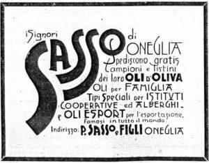1901_01 - Annunci Olio Sasso