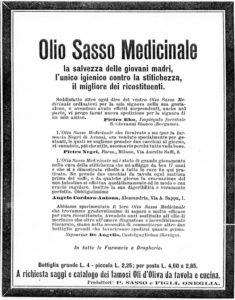 1905_02 - Annunci Olio Sasso