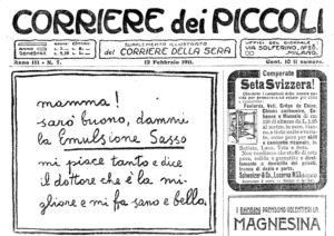 1911-13 - Annunci Olio Sasso
