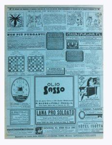 1918-11 - Annunci Olio Sasso
