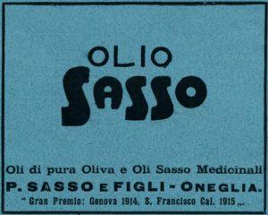 1918-12 - Annunci Olio Sasso