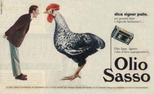 1958 annunci Olio Sasso pollo