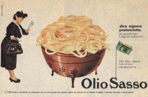 1958 annunci Olio Sasso pasta