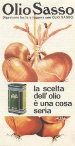 1964 annunci pubblicitari olio sasso