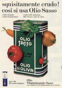 1967 annunci pubblicitari olio sasso