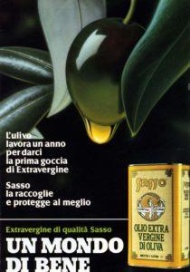 1988 annunci pubblicitari olio sasso