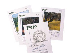 1993-1996_Calendario Olio Sasso