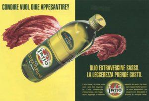 1997 annunci pubblicitari olio sasso