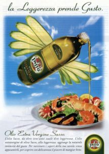 1998 annunci pubblicitari olio sasso