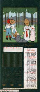 Gennaio_1902 Calendari pubblicitari Olio Sasso