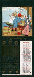Ottobre_1902-Calendari pubblicitari Olio Sasso