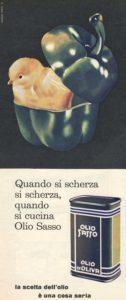1968 annunci pubblicitari olio sasso