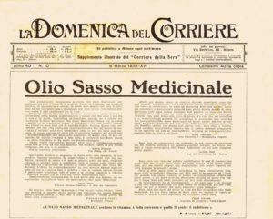 anni'10 - Annunci Olio Sasso medicinale