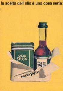 1976 annunci pubblicitari olio sasso