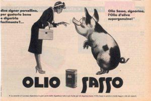 1959 annunci Olio Sasso porcellino