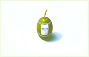 Cartoline pubblicitarie Olio Sasso colore anni